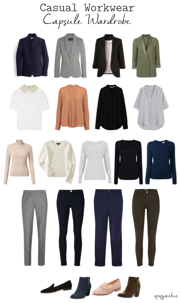 A Step Above Casual Workwear Capsule Wardrobe life-style